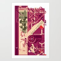 Phallic Attachment Art Print