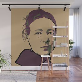 Simone de Beauvoir Wall Mural