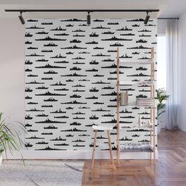 Battleship Wall Mural
