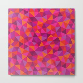 Prismatic Pattern Metal Print
