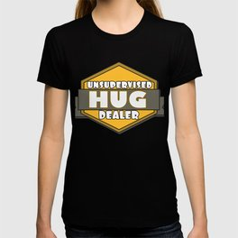 This is the best and funniest tee shirt that's perfect for you HUG DEALER T-shirt