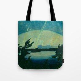 J.E.H. MacDonald Aurora, Georgian Bay, 1931, Canadian Art Tote Bag