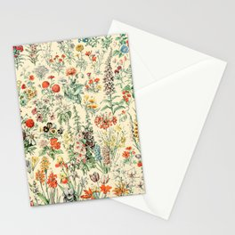 Wildflower Diagram // Fleurs II by Adolphe Millot XL 19th Century Science Textbook Artwork Stationery Cards