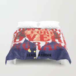 Knowledge Will Duvet Cover