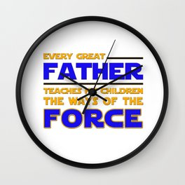 Every great father Wall Clock
