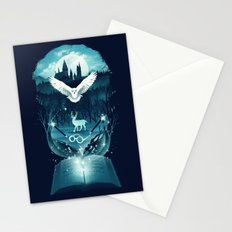 Book of Fantasy Stationery Cards