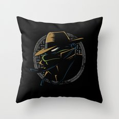 Undercover Ninja Leo Throw Pillow