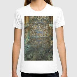 Apocalyptic Vision of the Sistine Chapel Rome 2020 T-shirt
