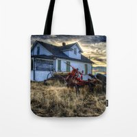 arsenal Tote Bags featuring Egli House by Photography By KC