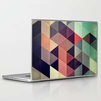 triangles Laptop & iPad Skins featuring tryypyzoyd by Spires