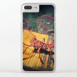 At It Again Clear iPhone Case