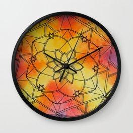 Pitter Pattern 8 Wall Clock