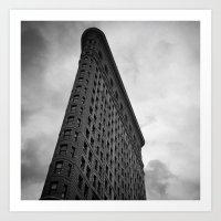 Flatiron Building Art Print