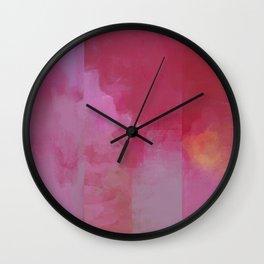 Deconstructed Sunrise Wall Clock
