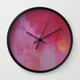 Deconstructed Sunrise Wall Clock