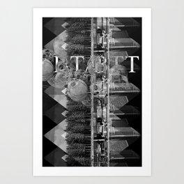BT/BTT Art Print