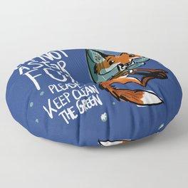 I am not a star fox BLUE Floor Pillow
