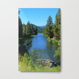 Payette River Scene ~ II Metal Print