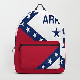flag of arkansas-america,usa,The Natural State,Arkansan, Arkansawyer,Arkanite,Little Rock,Fort Smith Backpack