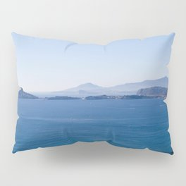 Baia Procida and Ischia, bay of Naples, Italy Pillow Sham
