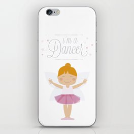 i´m a dancer iPhone Skin