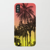 tropical iPhone & iPod Cases featuring palm tree  by mark ashkenazi