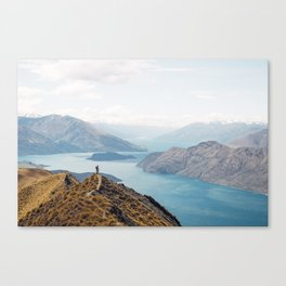 The top of Roys Peak Canvas Print