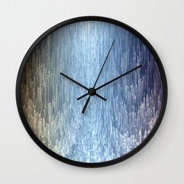 Trail of light Wall Clock