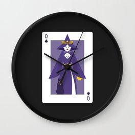 Queen of Spades - Queen Witch Wall Clock