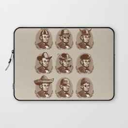 Abe Tries on Hats Laptop Sleeve