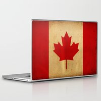 canada Laptop & iPad Skins featuring Canada by NicoWriter