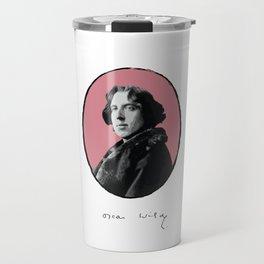 Authors - Oscar Wilde Travel Mug