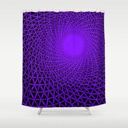 Hexagon immersion Shower Curtain