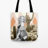arizona Tote Bags featuring Arizona by Kristen Chamberlain