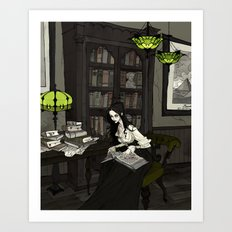 Asenath Art Print