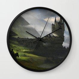 Knight return Wall Clock