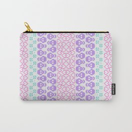 Not your Grandma's fairisle Carry-All Pouch