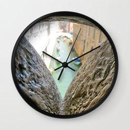 Bridge of Sighs-Venice, Italy Wall Clock