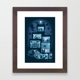It is a silly place Framed Art Print