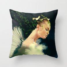 guard of the nature Throw Pillow