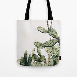 Cactus on blue sky #society6 #decor #buyart Tote Bag