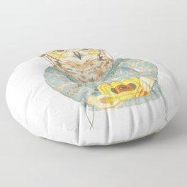 Feathers & Tunes Floor Pillow