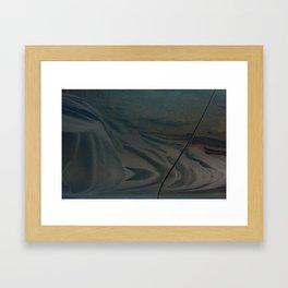 Drop Cloth Framed Art Print