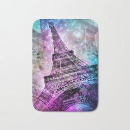 Pop Art Eiffel Tower Bath Mat