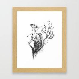 inevitable Framed Art Print