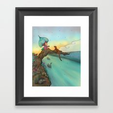 Under cover Framed Art Print