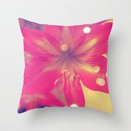 Secret Garden| Pink tigress  Throw Pillow