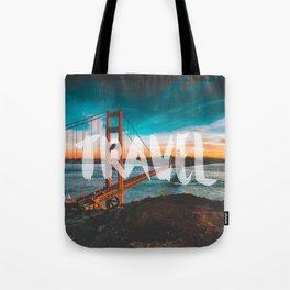 TRAVEL San Francisco Tote Bag