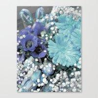blues Canvas Prints featuring Blues by Joke Vermeer