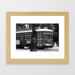 New Orleans Trolley 2004 Framed Art Print